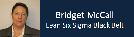 Bridget McCall – Lean Six Sigma Black Belt