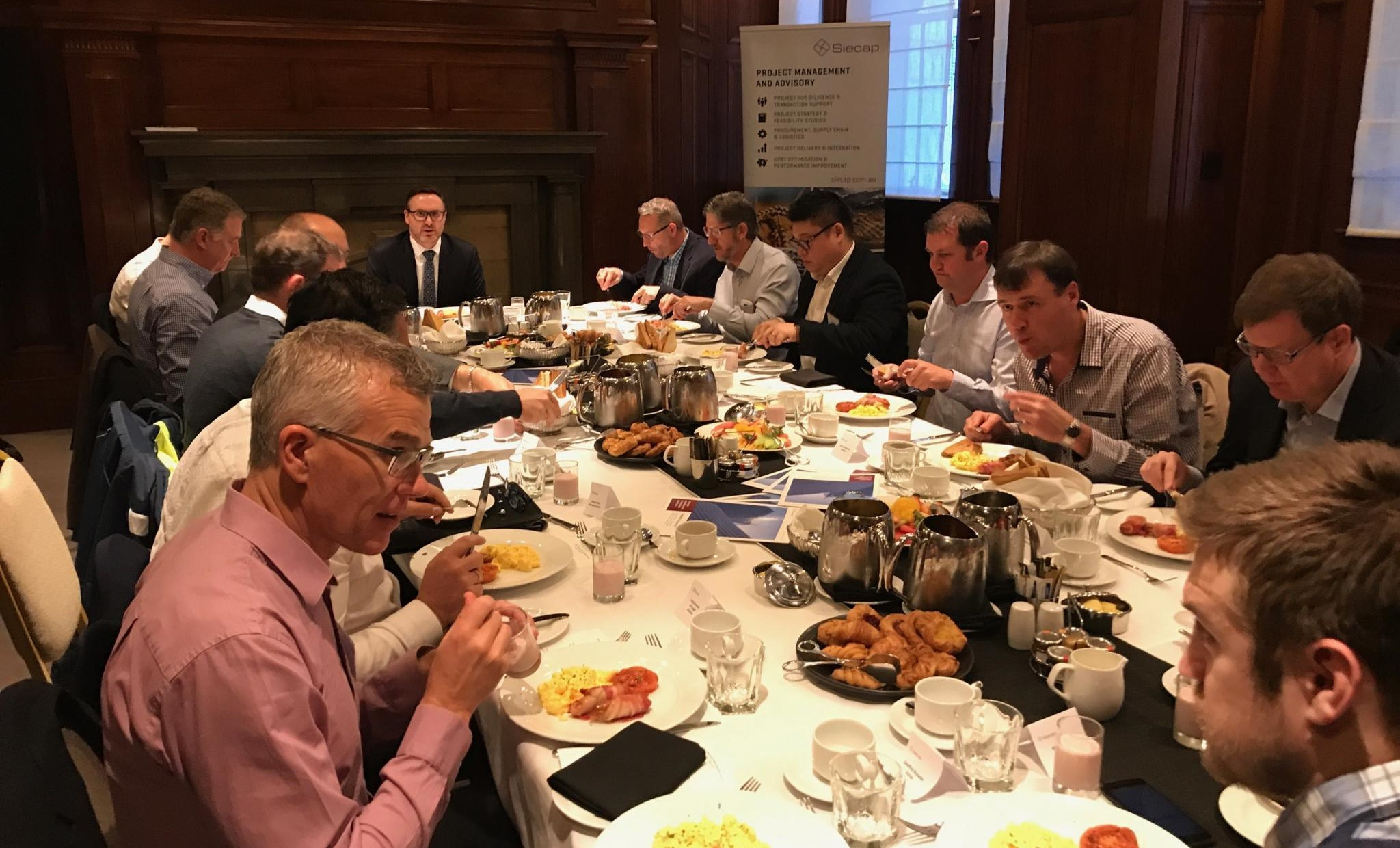 Siecap hosts Supply Chain and Logistics Industry Fellows Breakfast Forum