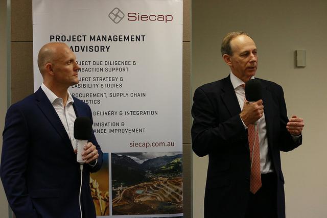 Women in mining event: Siecap's Tim Crossley delves deep into his leadership journey