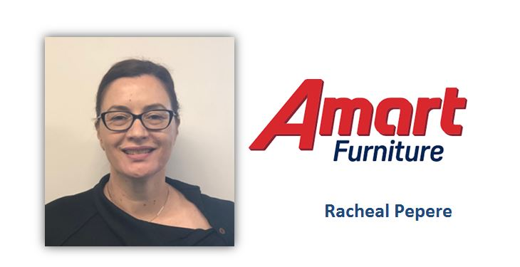 International Women's Day supply chain leaders: Racheal Pepere, Amart Furniture